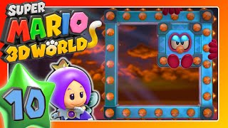 SUPER MARIO 3D WORLD 🐱 Part 10: Geheimer Gold-Zug, PC Update & die Wolken-Welt
