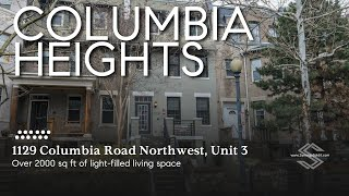 1129 Columbia Rd  NW #3 - DC Condo for Sale