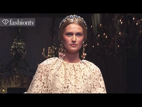 Toni Garrn + Sara Blomqvist: Top Models at Fashion Week Fall/Winter 2012-13 | FashionTV