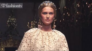 Toni Garrn + Sara Blomqvist: Top Models at Fashion Week Fall/Winter 2012-13 | FashionTV