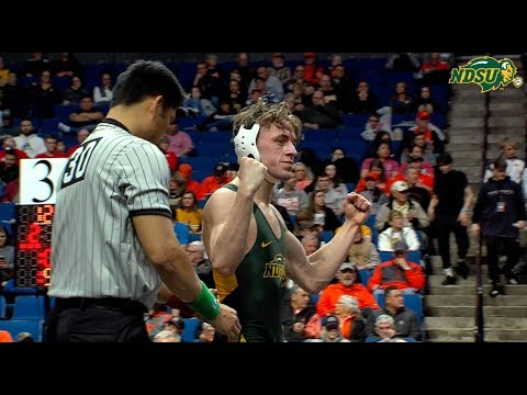 NDSU Wrestling Advances Fleetwood, Fogarty to Big XII Finals