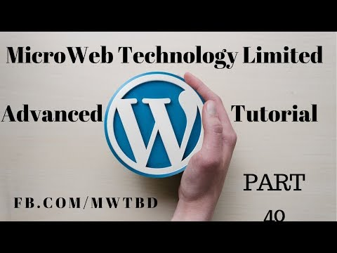 How to use css and Jquery for dropdown menu | Advanced WordPress tutorial ( Part 40) thumbnail