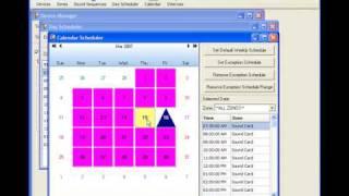 BellCommander School Bell Software Single Zone Demo