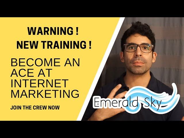 NEW Training: How to Become An Ace at Internet Marketing [Coming Soon!]