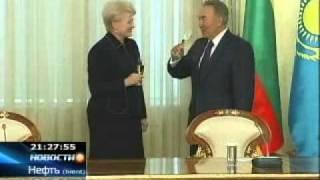 Президент Литвы не переносит спиртного