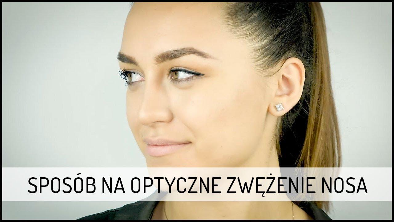 Sposób na optyczne zwężenie nosa | MAKE UP DOMODI TV