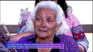 Baixar Mãe e filha se reencontram no palco do Hora do Faro