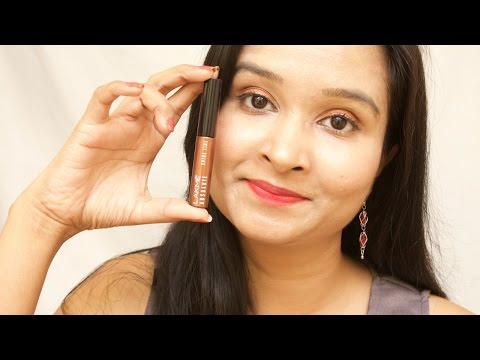 Lakme Absolute Shine Line Shimmery Bronze Eyeliner Review and Demo | pinkrussh