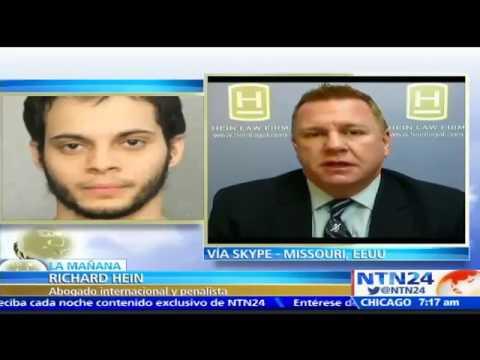 Attorney Richard Hein gives legal analysis regarding Ft. Lauderdale Shooting on NTN24 Broadcast