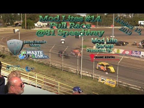 Mod Lites #14, Full Race, 81 Speedway, 10/19/19