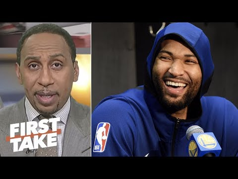 Stephen A. on Cousins-Warriors criticism: What the hell is wrong with everybody? | First Take | ESPN
