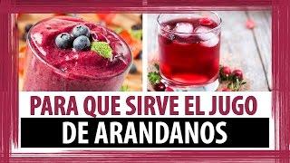 PARA QUE SIRVE EL JUGO O EXTRACTO DE ARANDANO - JUGO DE CRANBERRY