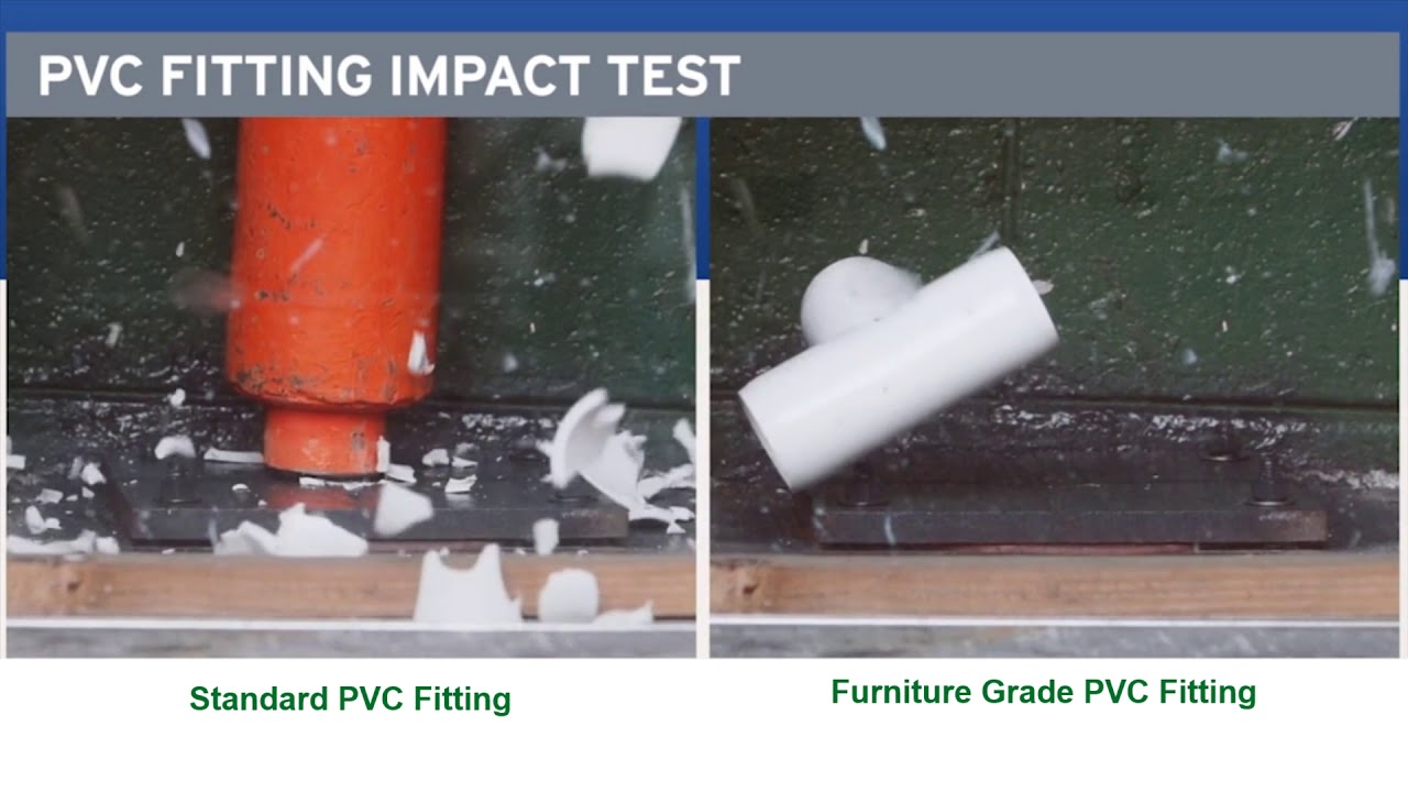 Display   Furniture Grade PVC Pipe and Fittings