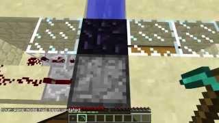 Minecraft 1.8 AFK Obsidian Farm Tutorial
