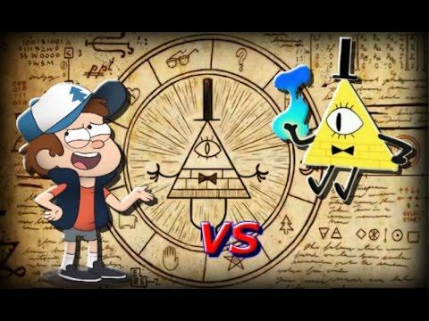 Bill Cipher vs Dipper Pines Rap Gravity Falls - FabriML