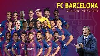 Fc Barcelona Squad Pre-season 2019/20