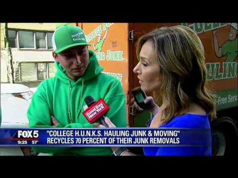 College Hunks Hauling Junk And Moving Of West Chester On Fox 5 Youtube