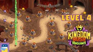 Kingdom Rush Vengeance: Level 4 Kazan's Mines 3-Star Walkthrough & iOS Gameplay  (by Ironhide)