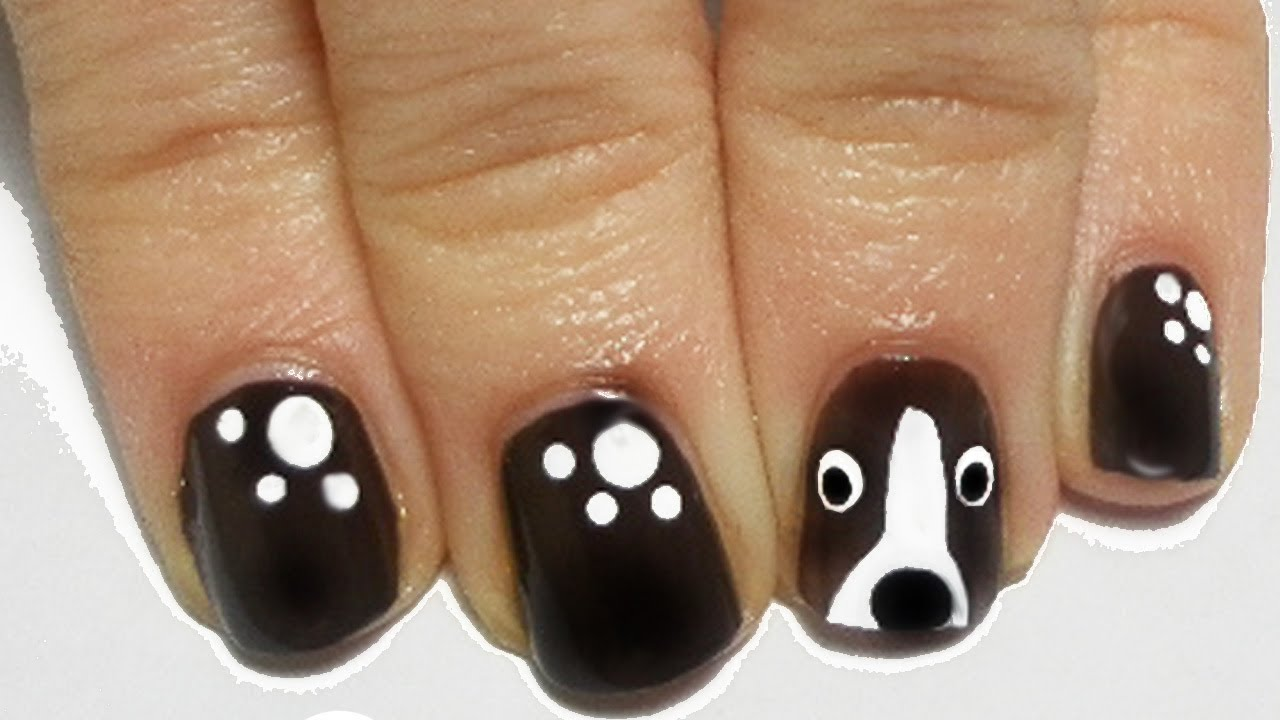 - Tutorial: Easy Dog Nail Art - YouTube