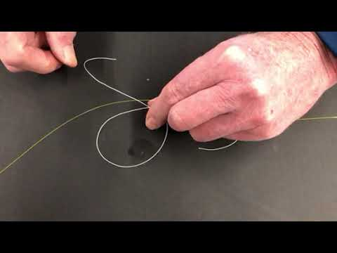 How To Tie A Bobber Stop Knot