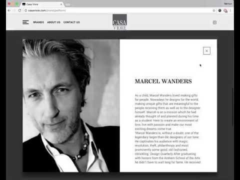 CasaViore interior design Website design