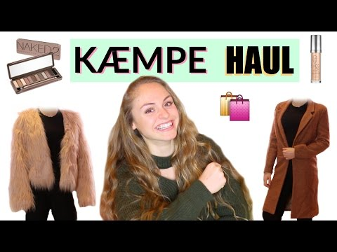 KÆMPE HAUL + try on ️ Shein, Romwe, H&M & Urban Decay - 동영상