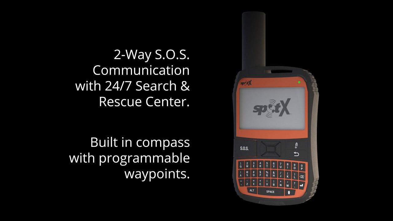 SPOT X   2-Way Satellite Messenger   FindMeSPOT com