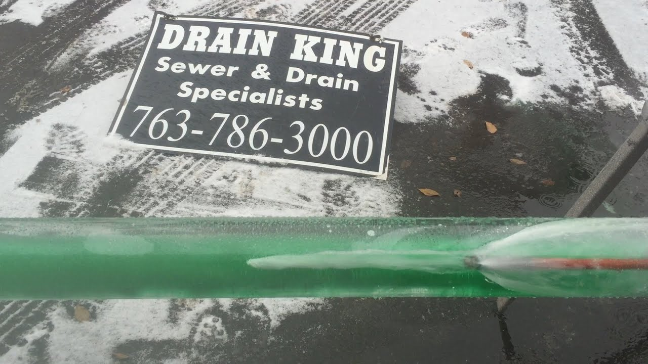 How to clear a frozen sewer line Minneapolis | Thaw a frozen water ...