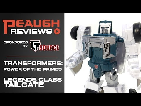 Video Review: Transformers: Power of the Primes - Legends Class TAILGATE