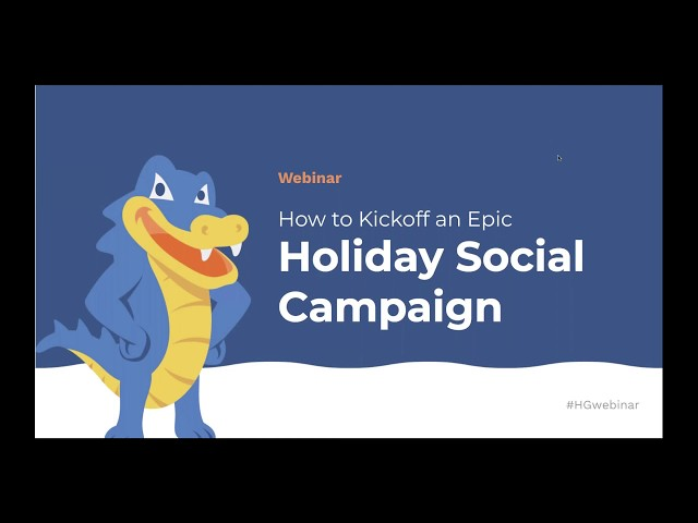 How to Kickoff an Epic Holiday Social Media Campaign