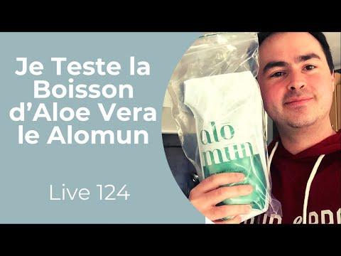 Je Teste la Boisson d'Aloe Vera Alomun