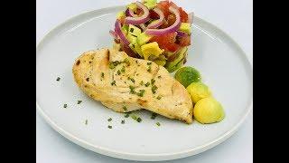 Маринованная куриная грудка в духовке | Блюдо из куриной грудки | Куриное филе в духовке