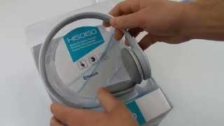 Bluetooth-гарнитура Rapoo H6060 White | unboxing