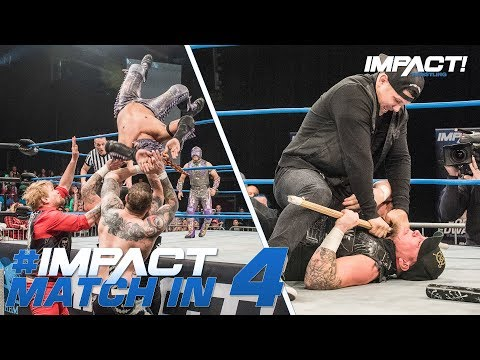 oVe vs Drago & Aerostar + Eddie Edwards SNAPS: Match in 4   IMPACT! Highlights May 24, 2018