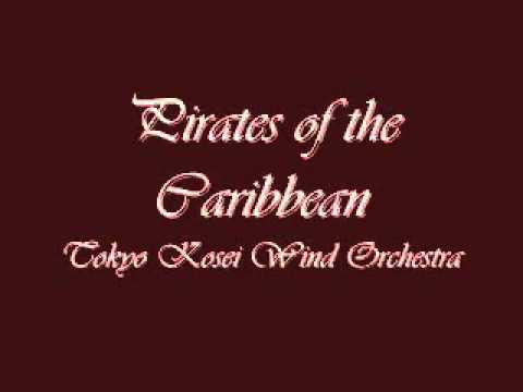 Pirates of the Caribbean. Tokyo Kosei Wind Orchestra.