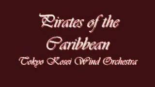 Pirates of the Caribbean. Tokyo Kosei Wind Orchestra.