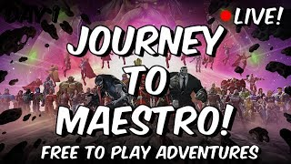 Free To Play Act 4 Progress - Journey To Maestro! - Marvel Contest Of Champions
