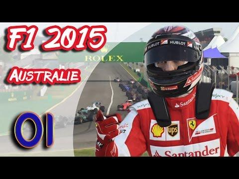 F1 2015 (FR) - Carrière Kimi Raikkonen - Australie