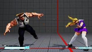 Street Fighter V Ranked Match.