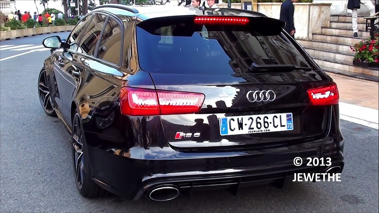 BRAND NEW 2013 Audi RS6 Avant C7 In Monaco! Start Up And