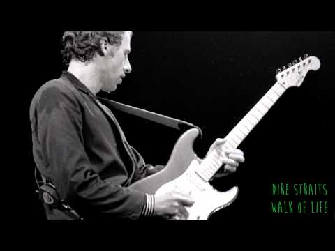 Dire Straits- Walk Of Life (Lyrics on screen)