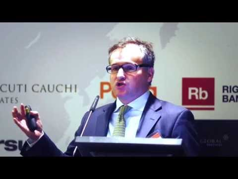 Alan Higgins, Coutts UK, keynote at Wealth Management & Private Banking: Russia and CIS
