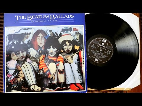The Beatles - The Beatles Ballads - Compilation album 1980 - Vinyl unboxing