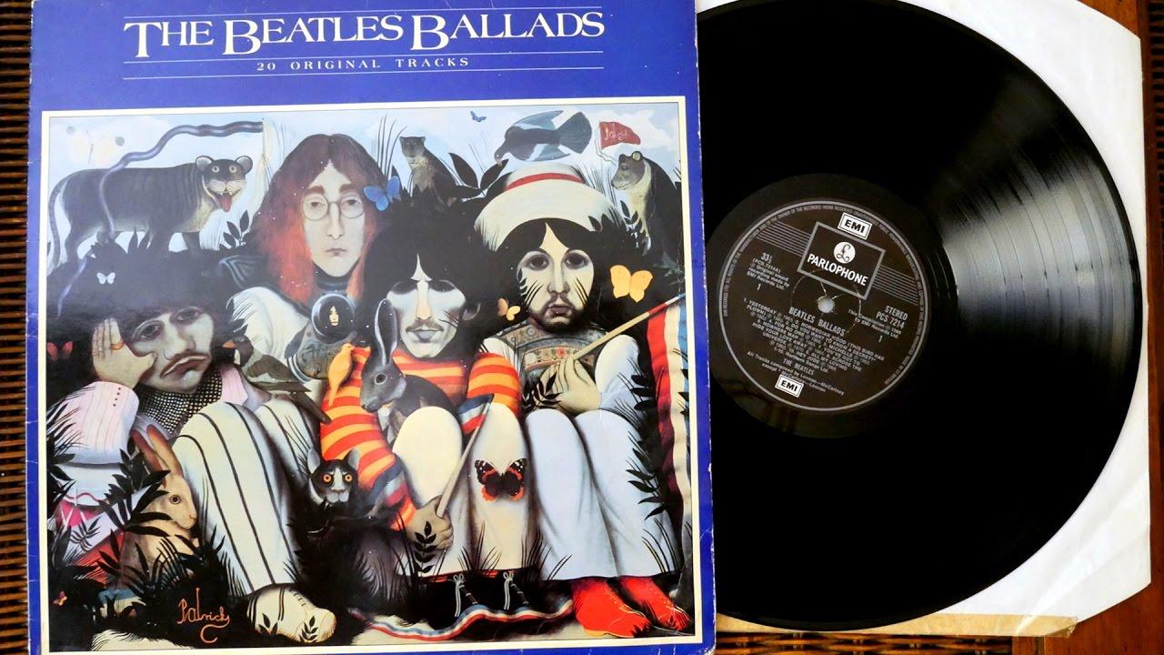 The Beatles The Beatles Ballads Compilation Album 1980