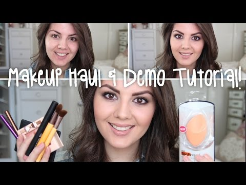 *NEW* ELF & Physicians Formula First Impressions Makeup Tutorial | iHerb Haul