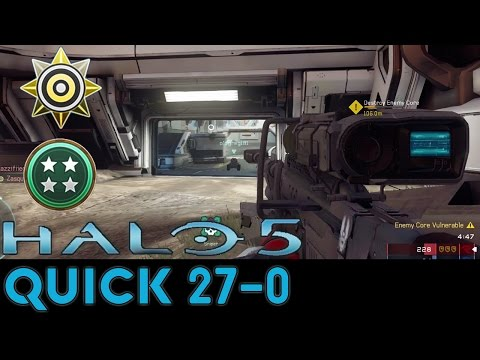 Halo 5: Guardians - Quick 27-0 Warzone Game