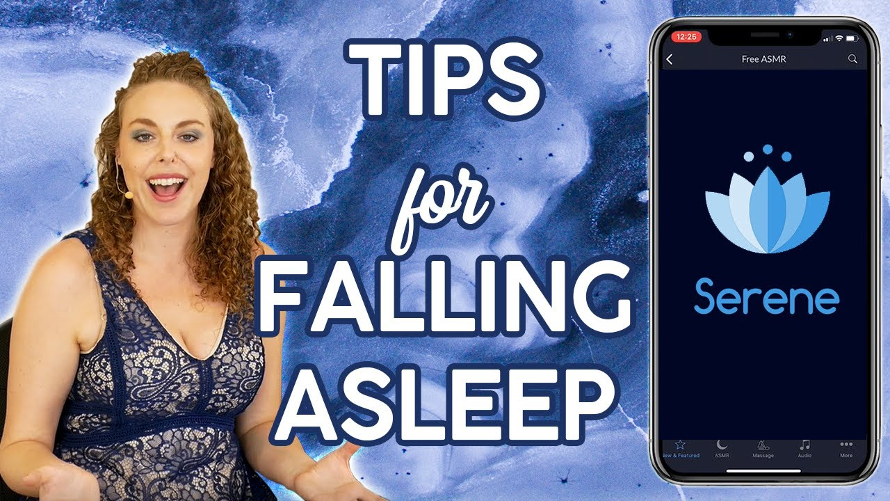 Sleepy Sleep Tips ♥ How to Fall Asleep Fast, Stay Asleep & Feel More Rested, ASMR, Relax, Insomn