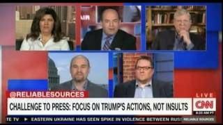 Press should Focus on Trump's actions and avoid insulting him  CNN Reliable Sources Brian Stelter