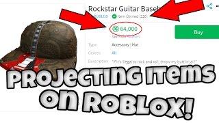 ROBLOX - Projecting Rockstar Baseball Cap!