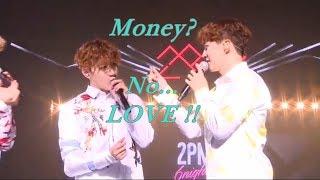 """[Eng Sub]Junho said, """"Money? No, this is love."""", 2PM (""""?? ??? ????~"""" 2PM ??)"""